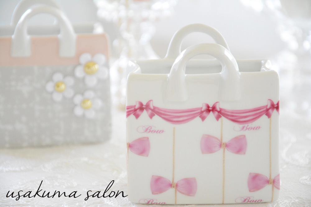 ポーセラーツ・たくさんのバッグ型小物入れ♡IMG_4923