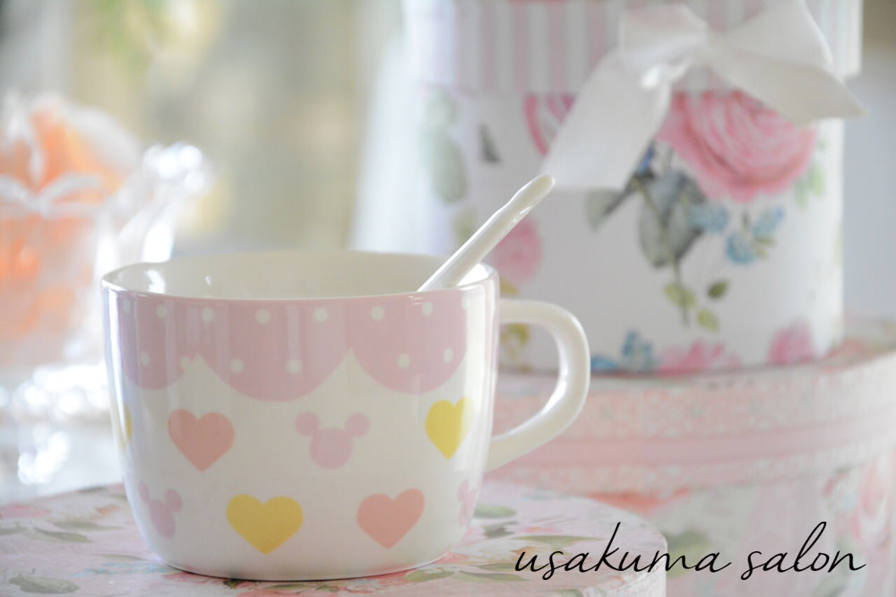 ポーセラーツ・オーダーお子様用マグカップ☆IMG_4966