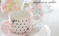 ポーセラーツ・余った転写紙で可愛いらしいカップ&ソーサーIMG_5627.JPG